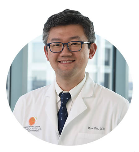 Hao Zhu, Liver cancer research