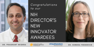 CRI and UTSW faculty members awarded prestigious NIH